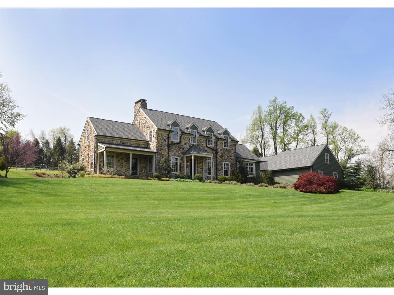 Maison unifamiliale pour l Vente à 3130 HORSESHOE Trail Glenmoore, Pennsylvanie 19343 États-Unis