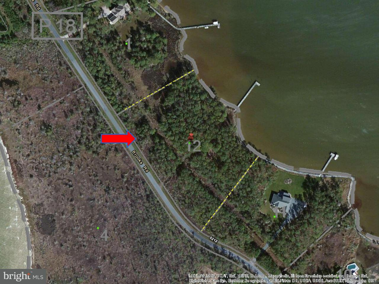 Land for Sale at 5131 Brooks Rd Woolford, Maryland 21677 United States