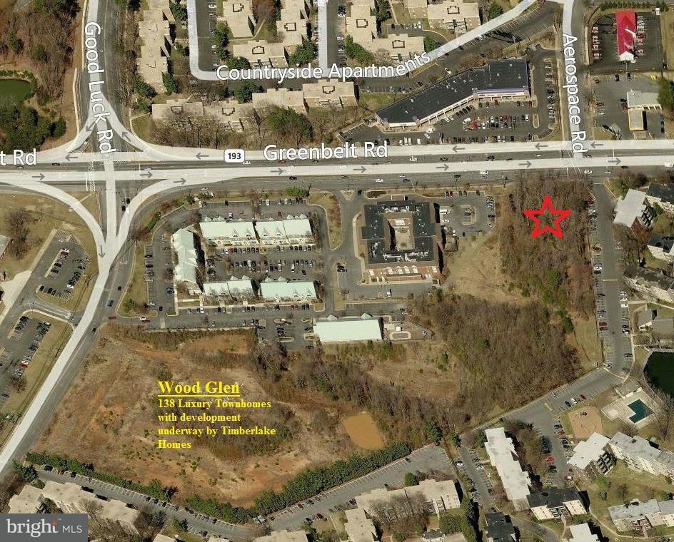 Terrain pour l Vente à 9897 GREENBELT Road 9897 GREENBELT Road Lanham, Maryland 20706 États-Unis