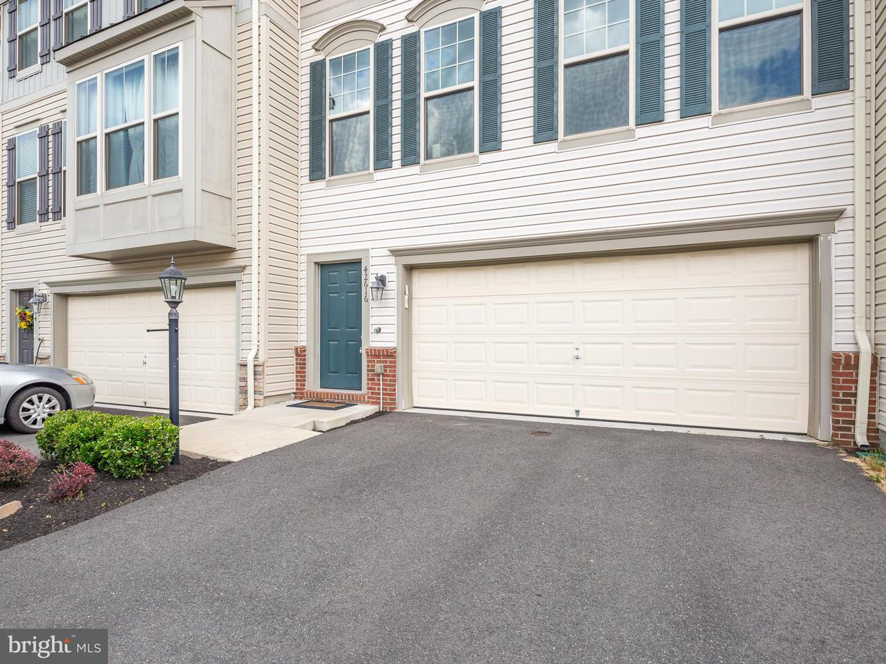 Townhouse for Sale at 42616 GALBRAITH SQ 42616 GALBRAITH SQ Broadlands, Virginia 20148 United States