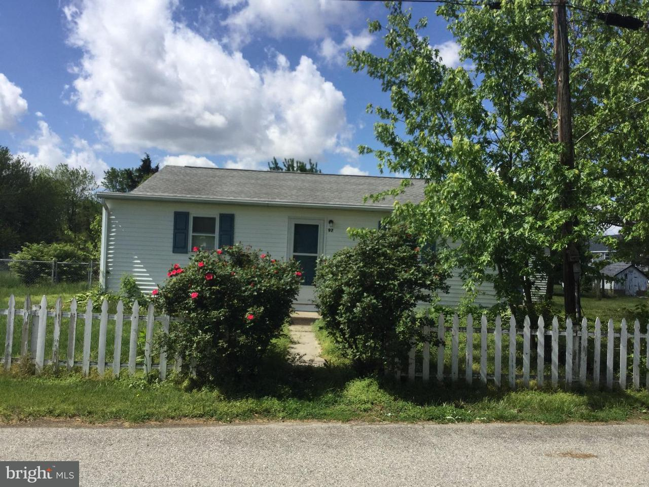 Single Family Home for Rent at 97 BAY VIEW Avenue Frederica, Delaware 19946 United States