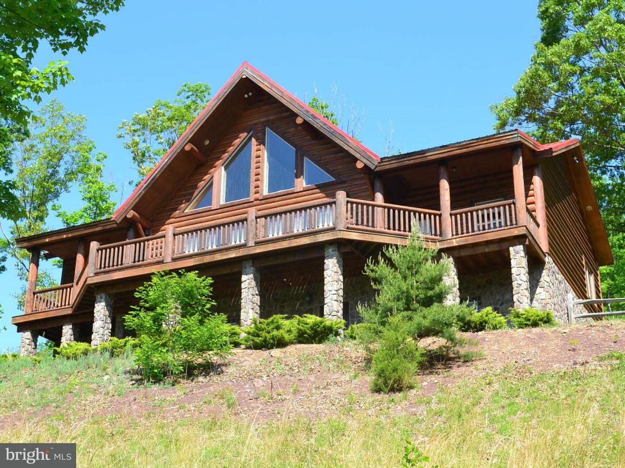 Maison unifamiliale pour l Vente à 44 WHITE OAK PASS 44 WHITE OAK PASS Mathias, Virginie-Occidentale 26812 États-Unis
