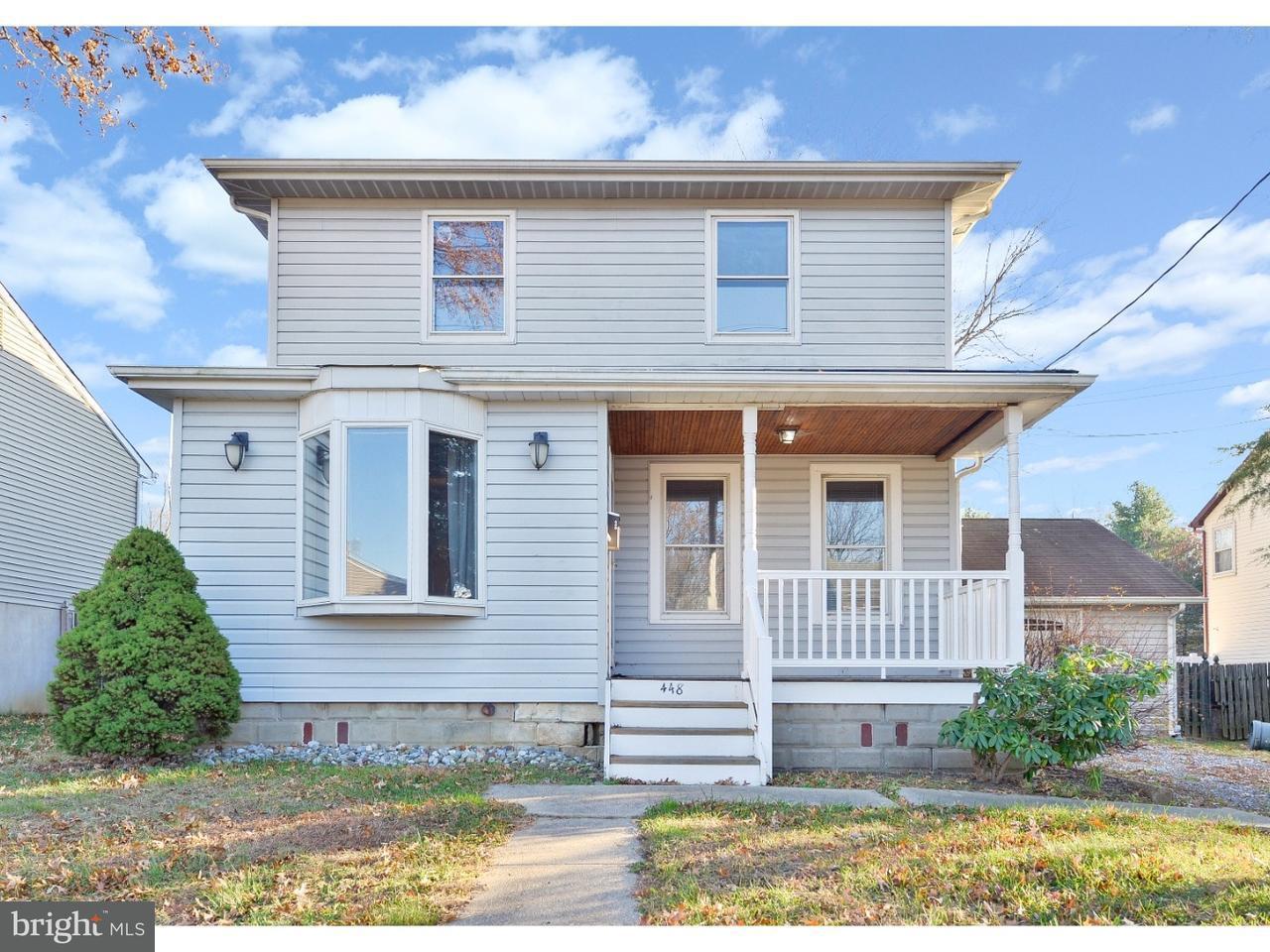 Частный односемейный дом для того Продажа на 448 ROBERTS Avenue Bellmawr, Нью-Джерси 08031 Соединенные Штаты