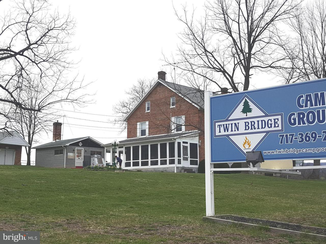 Коммерческий для того Продажа на 1345 TWIN BRIDGE Road 1345 TWIN BRIDGE Road Chambersburg, Пенсильвания 17202 Соединенные Штаты