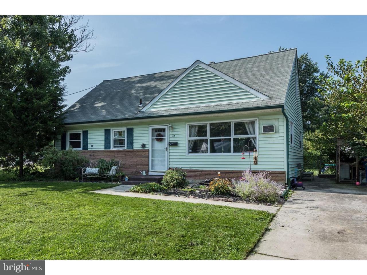 Maison unifamiliale pour l Vente à 35 CALDWELL Avenue Marlton, New Jersey 08053 États-Unis