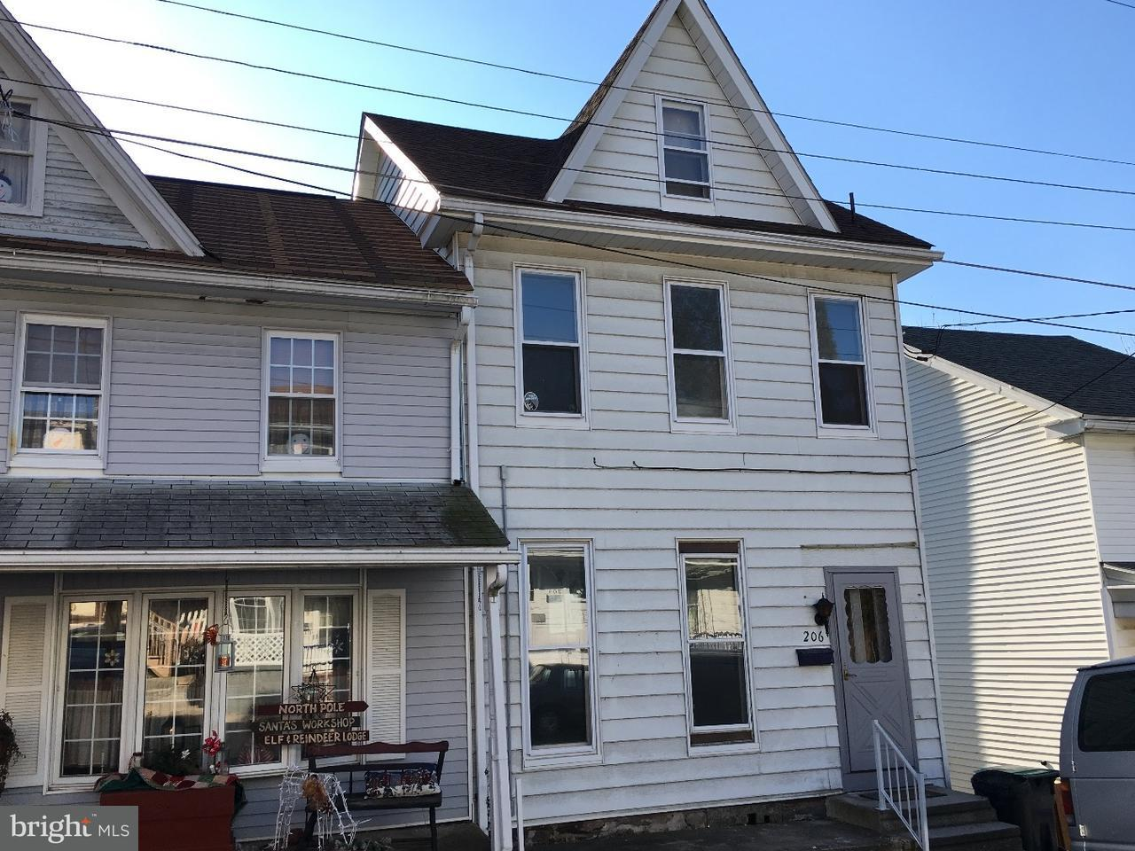 Townhouse for Sale at 206 CLAY Street Tamaqua, Pennsylvania 18252 United States