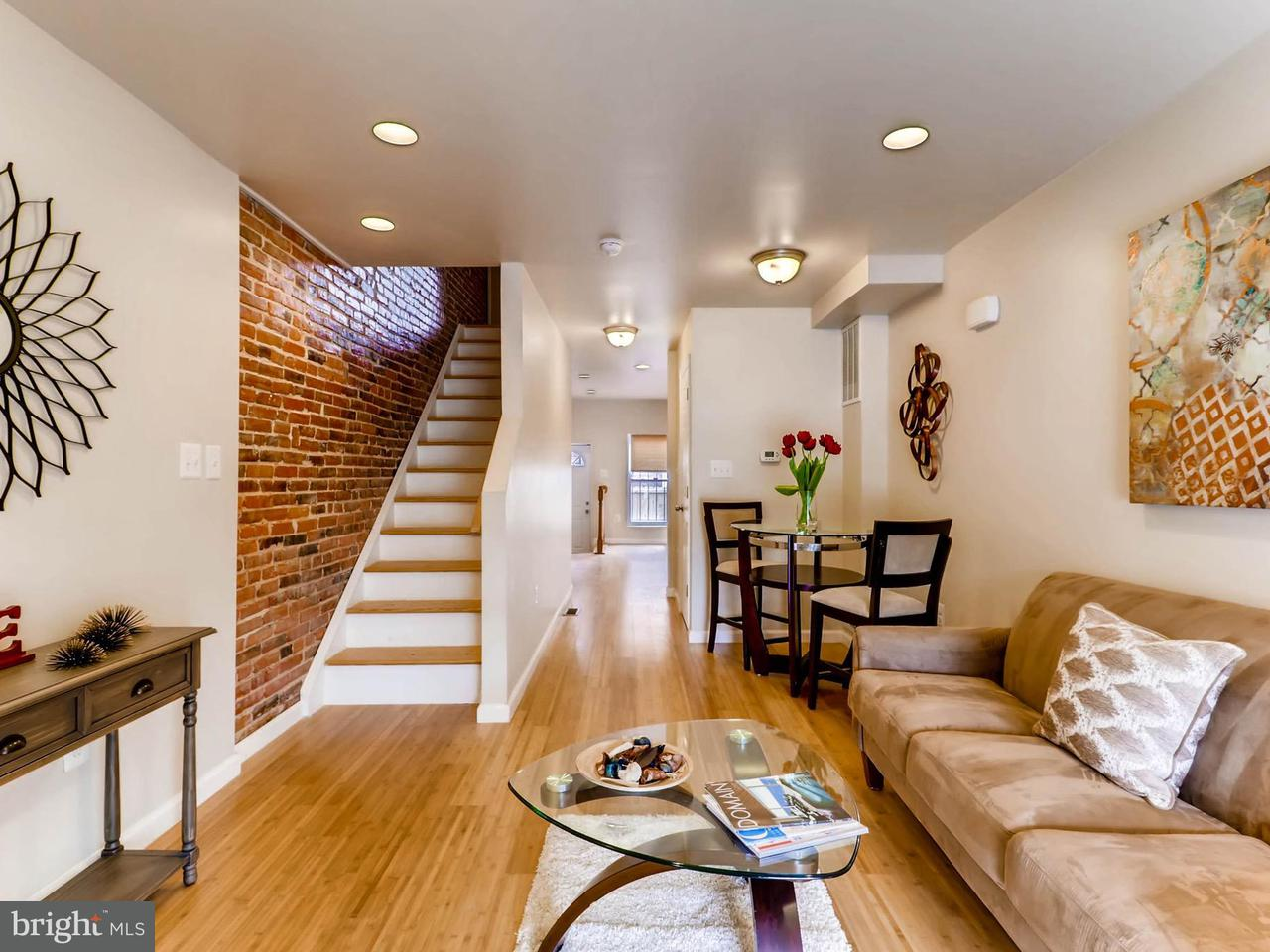 Single Family for Sale at 2407 Eager St Baltimore, Maryland 21205 United States