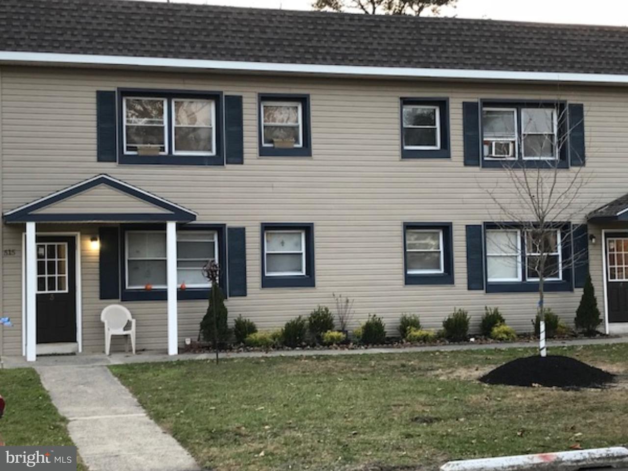 Частный односемейный дом для того Аренда на 515 SURREY AVE #1B Berlin, Нью-Джерси 08009 Соединенные Штаты