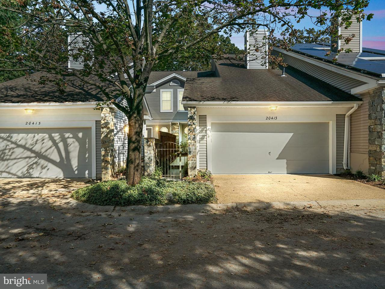 Townhouse for Sale at 20413 REMSBURY Place 20413 REMSBURY Place Montgomery Village, Maryland 20886 United States