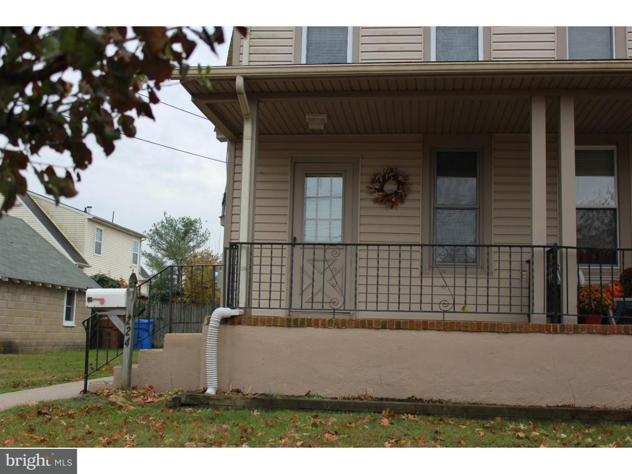 Duplex for Rent at 224-226 VANNEMAN Avenue Swedesboro, New Jersey 08085 United States