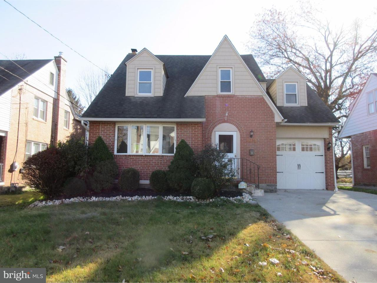 独户住宅 为 销售 在 1236 JEFFERSON Avenue Woodlyn, 宾夕法尼亚州 19094 美国