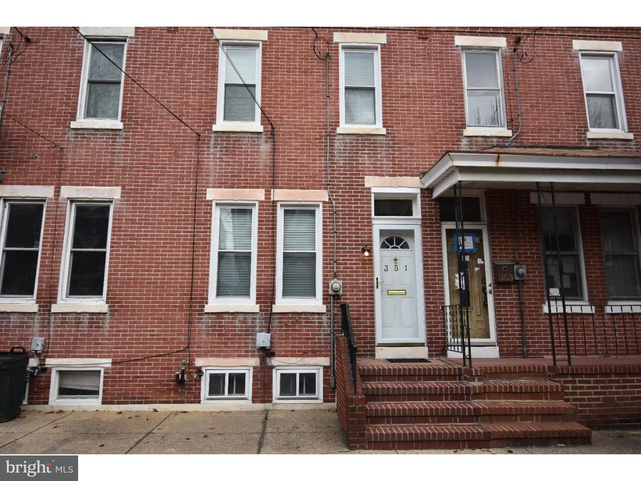 Townhouse for Rent at 351 BARCLAY Street Burlington, New Jersey 08016 United States