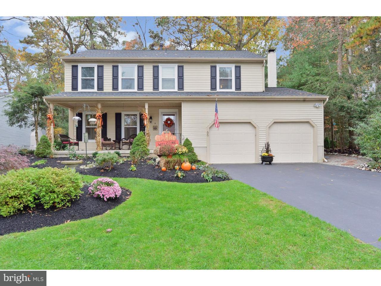 Maison unifamiliale pour l Vente à 66 LADY DIANA Circle Marlton, New Jersey 08053 États-Unis