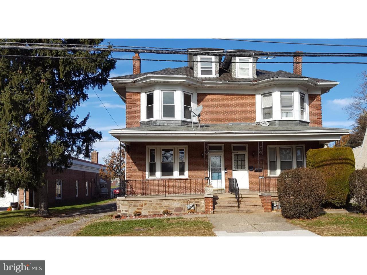 联栋屋 为 出租 在 1343 SANDY HILL Road Norristown, 宾夕法尼亚州 19401 美国