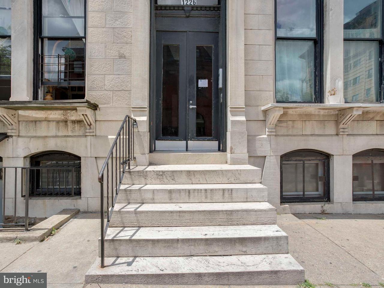 Huis voor meerdere gezinnen voor Verkoop een t 1226 SAINT PAUL Street 1226 SAINT PAUL Street Baltimore, Maryland 21202 Verenigde Staten