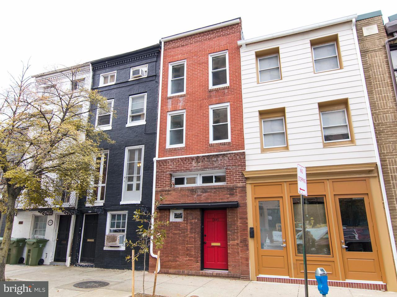 Single Family for Sale at 1108 Cathedral St Baltimore, Maryland 21201 United States