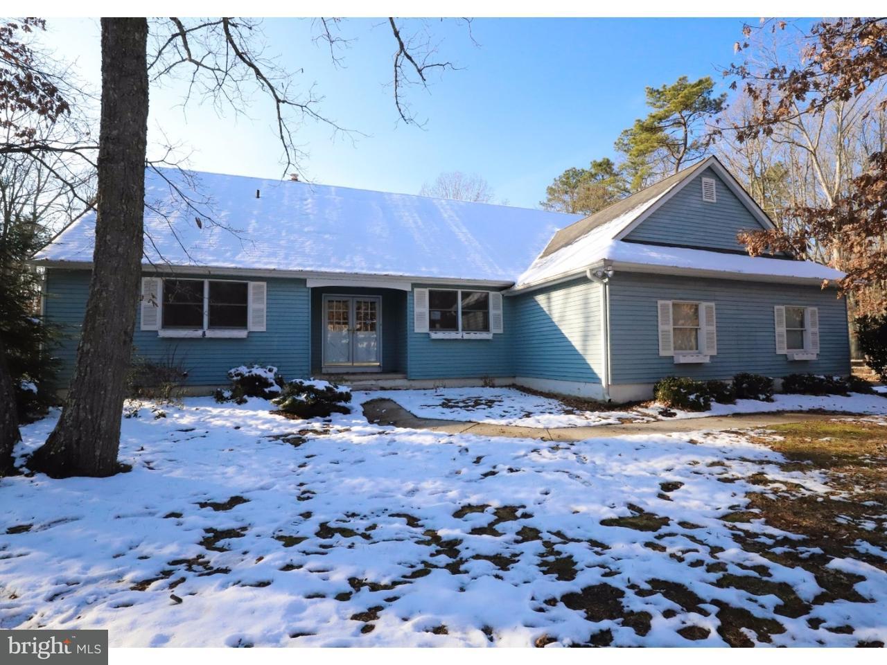 Частный односемейный дом для того Продажа на 443 PRICKETTS MILL Road Tabernacle, Нью-Джерси 08088 Соединенные Штаты