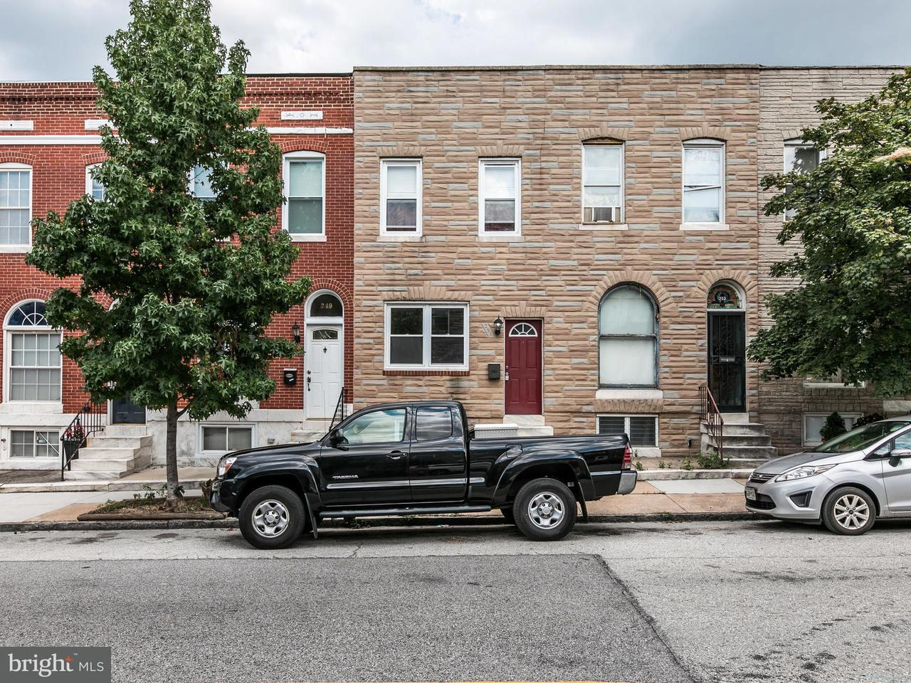 Single Family for Sale at 251 East Ave S Baltimore, Maryland 21224 United States