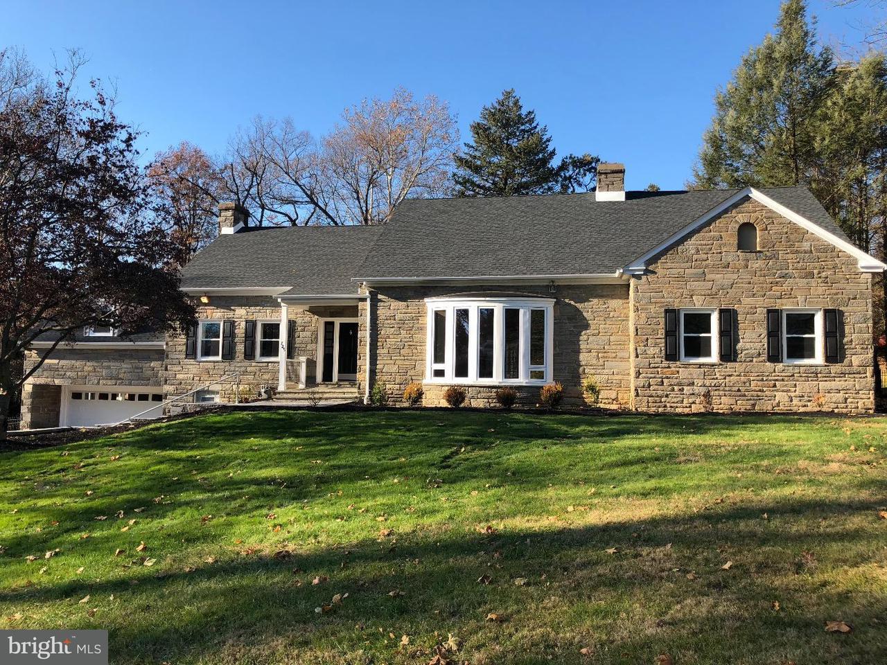 Maison unifamiliale pour l Vente à 725 MEETINGHOUSE Road Elkins Park, Pennsylvanie 19027 États-Unis