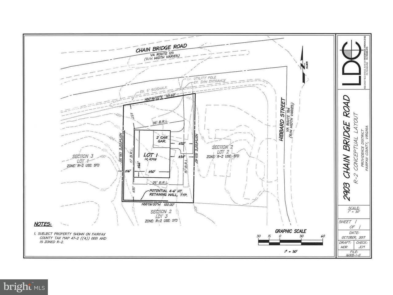 Single Family Home for Sale at 2903 Chain Bridge Road 2903 Chain Bridge Road Oakton, Virginia 22124 United States