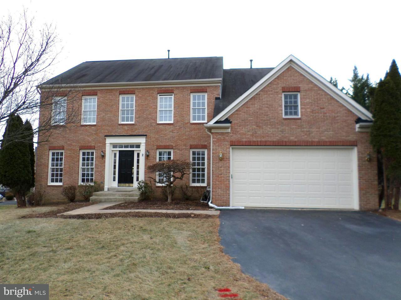 Einfamilienhaus für Verkauf beim 2 STONEBRIDGE Court 2 STONEBRIDGE Court Germantown, Maryland 20874 Vereinigte Staaten
