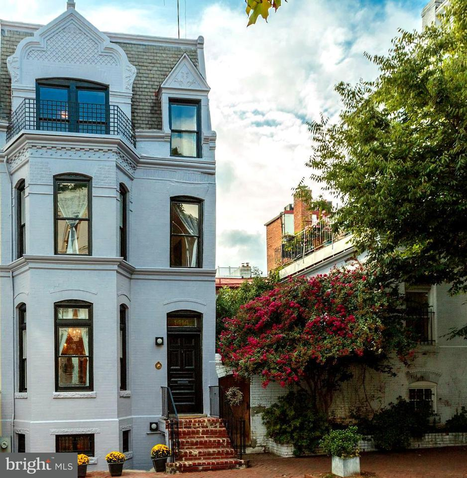 Townhouse for Sale at 1414 29TH ST NW 1414 29TH ST NW Washington, District Of Columbia 20007 United States