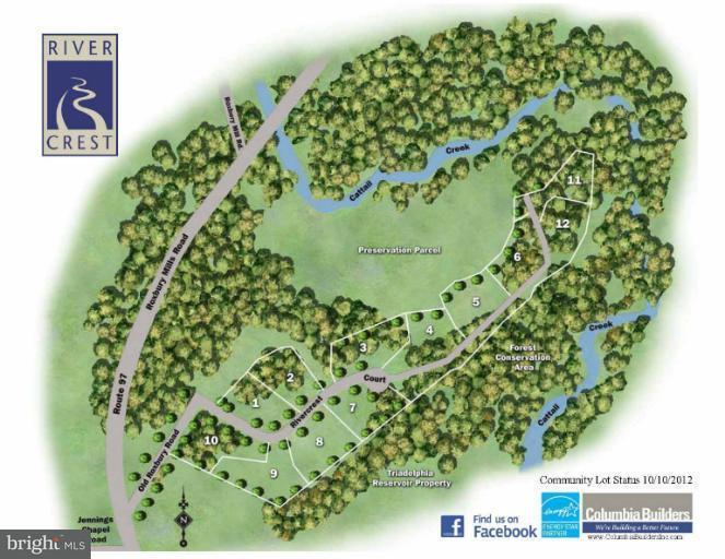 Land for Sale at 15433 Rivercrest Ct Brookeville, Maryland 20833 United States
