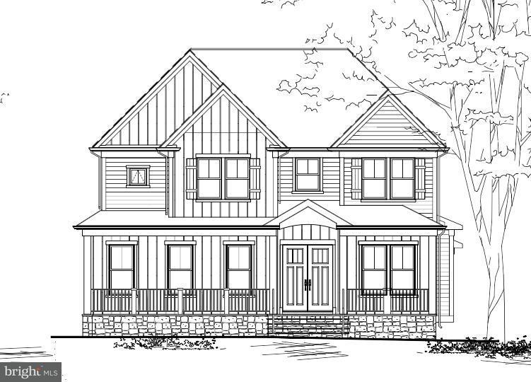 Maison unifamiliale pour l Vente à 10309LOT #1 BURKE LAKE Road 10309LOT #1 BURKE LAKE Road Fairfax Station, Virginia 22039 États-Unis