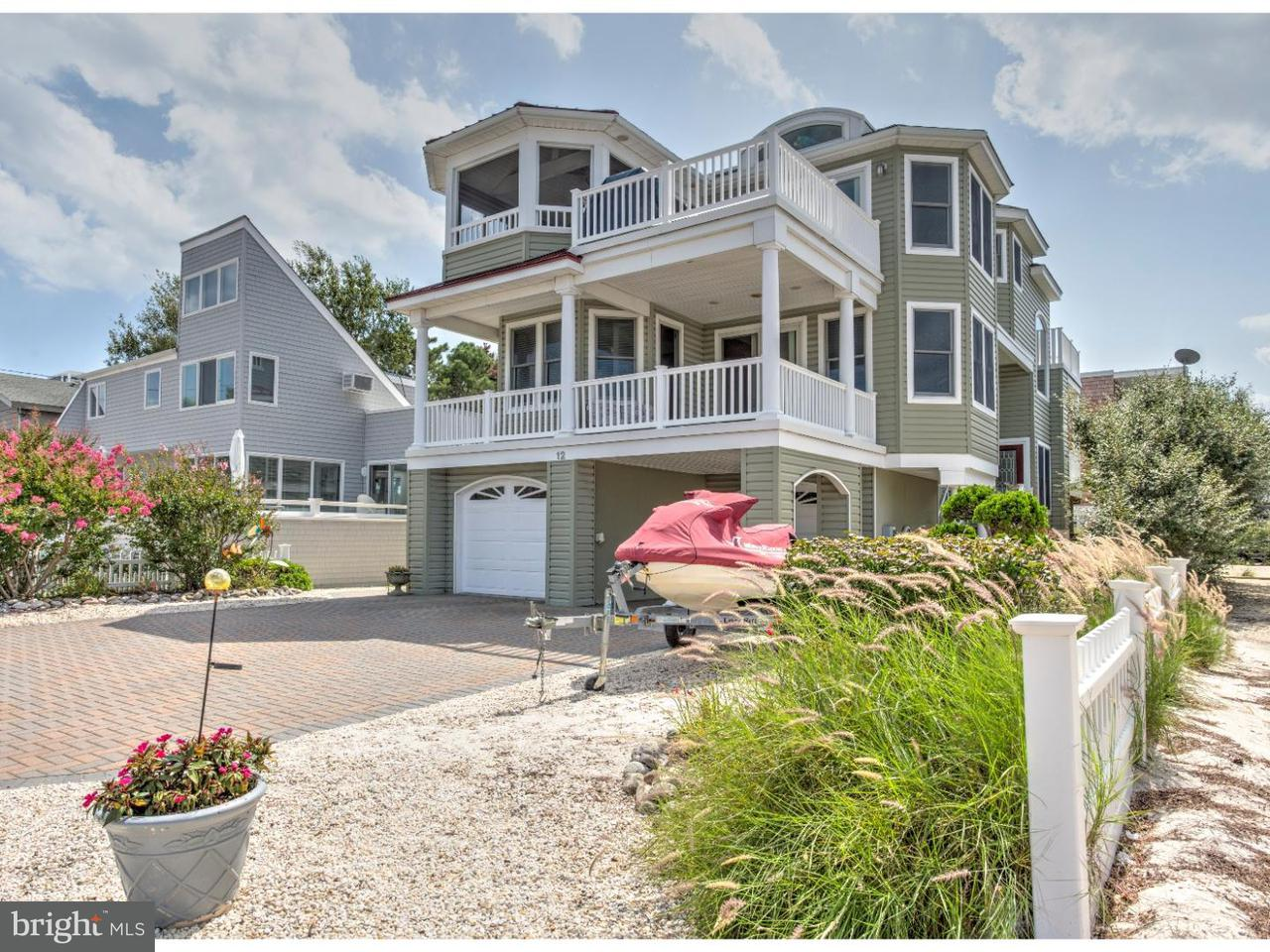 Single Family Home for Sale at 12 W BERGEN Avenue Harvey Cedars, New Jersey 08008 United States