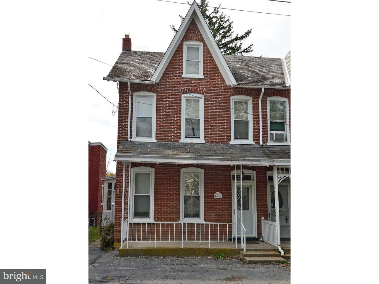Townhouse for Sale at 460 E MAIN Street Virginville, Pennsylvania 19564 United States