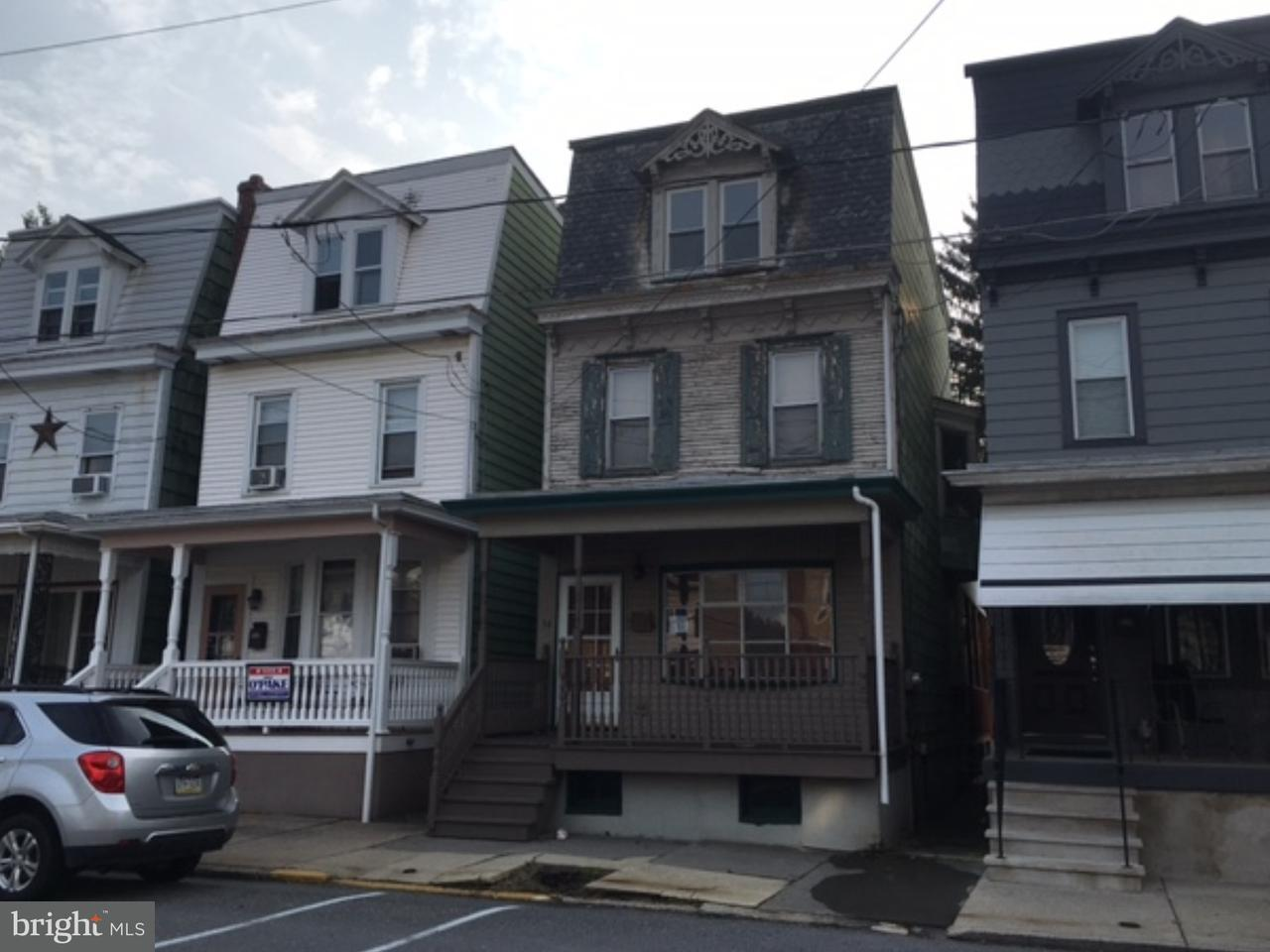 Townhouse for Sale at 54 S COAL Street Port Carbon, Pennsylvania 17965 United States