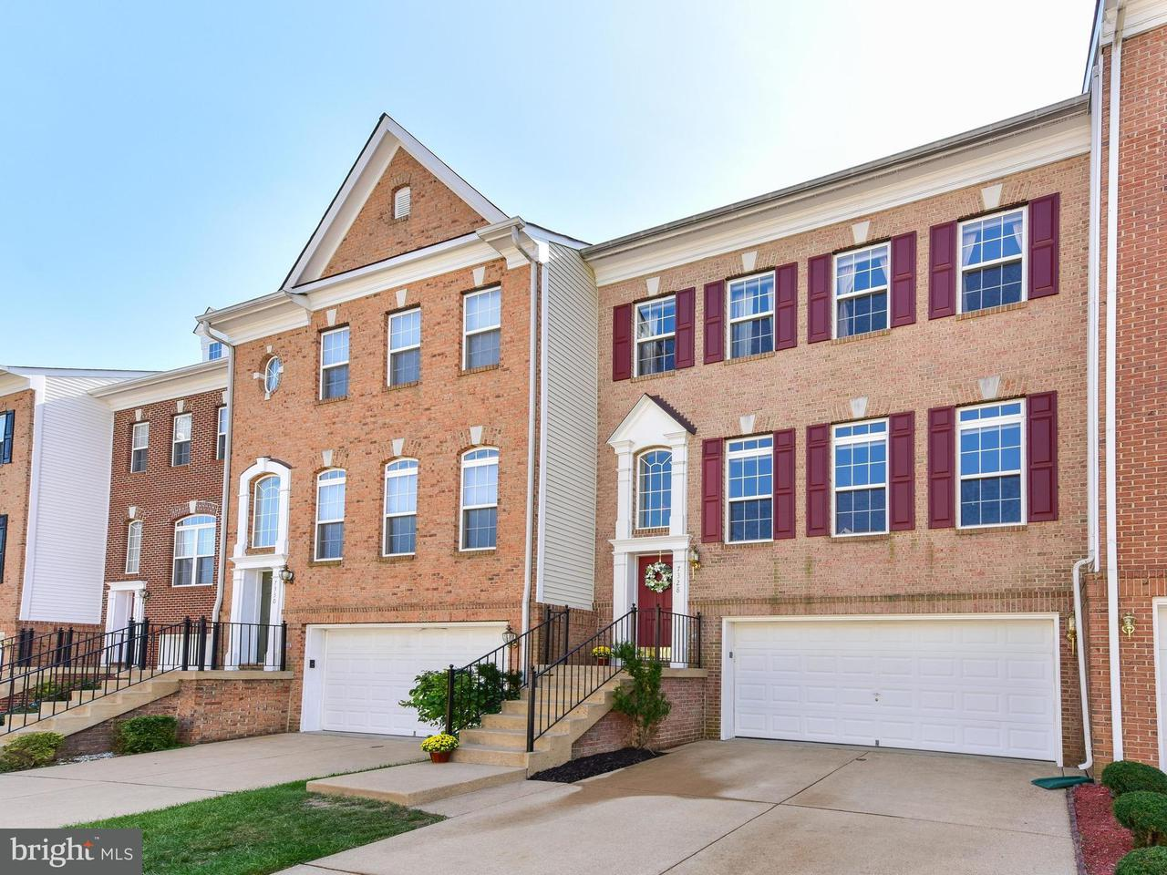 Townhouse for Sale at 7328 HAMPTON MANOR Place 7328 HAMPTON MANOR Place Springfield, Virginia 22150 United States
