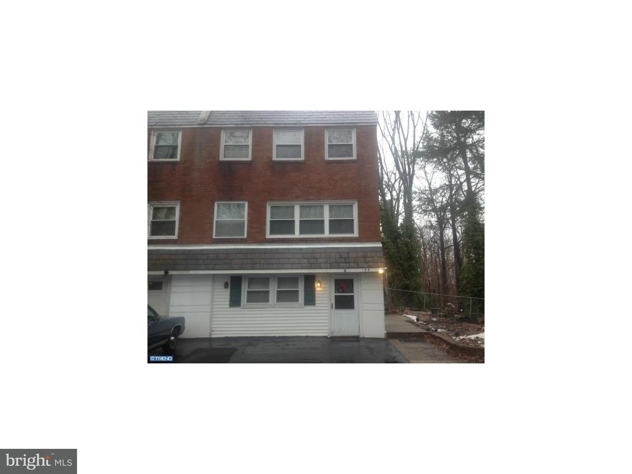 联栋屋 为 出租 在 159 W MARYLAND Avenue Aldan, 宾夕法尼亚州 19018 美国