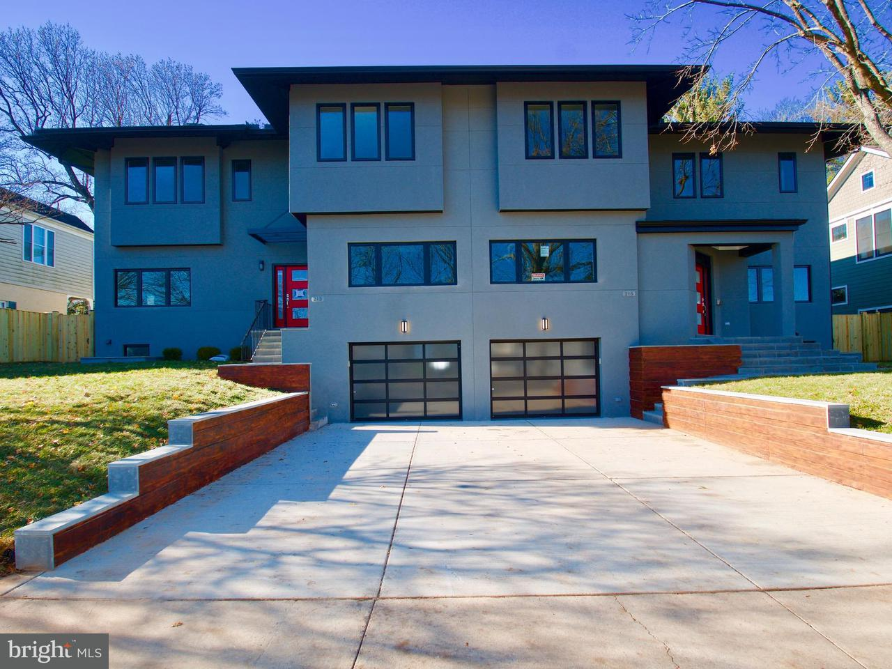 Single Family Home for Sale at 213 W GREENWAY BLVD 213 W GREENWAY BLVD Falls Church, Virginia 22046 United States