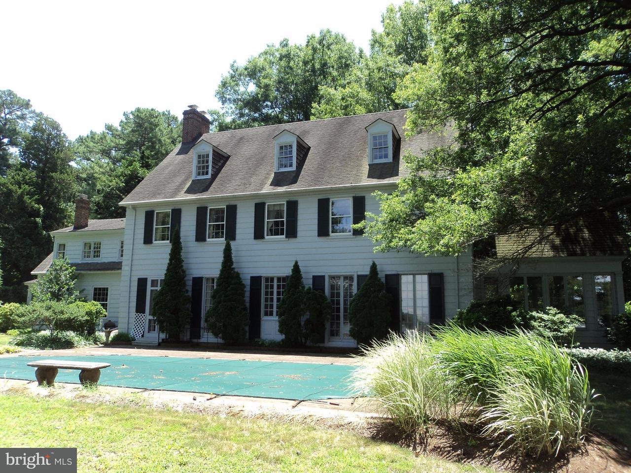 Maison unifamiliale pour l Vente à 8620ET AL. DONCASTER Road 8620ET AL. DONCASTER Road Easton, Maryland 21601 États-Unis