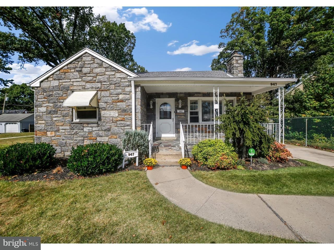 Casa Unifamiliar por un Venta en 947 KELLY Avenue Milmont Park, Pennsylvania 19094 Estados Unidos