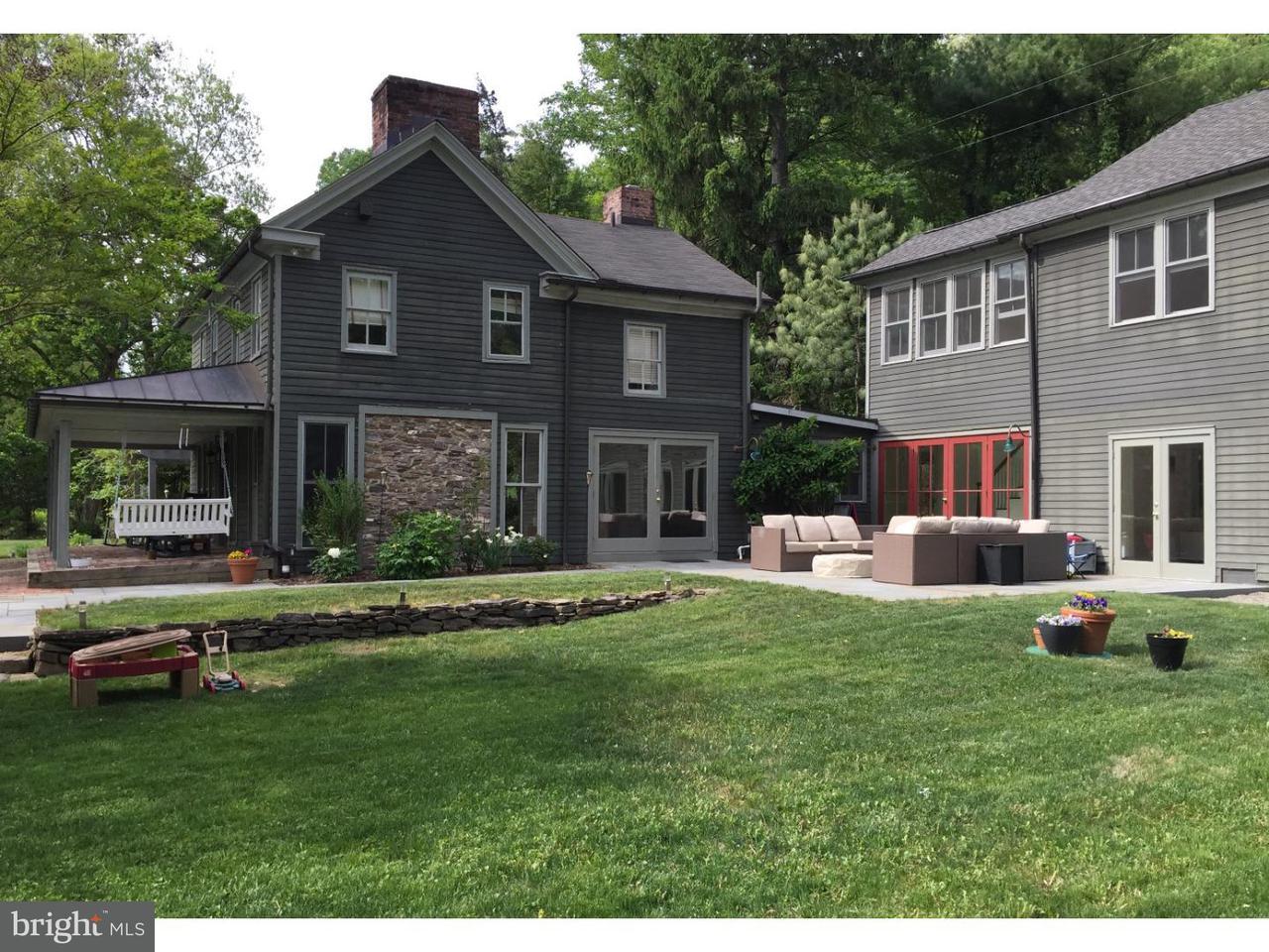 Частный односемейный дом для того Аренда на 80 OLD RIVER Road Stockton, Нью-Джерси 08559 Соединенные ШтатыВ/Около: Kingwood Township