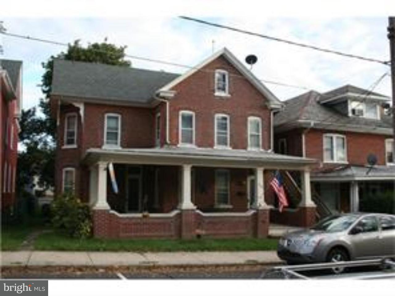 Single Family Home for Rent at 306 3RD Street East Greenville, Pennsylvania 18041 United States