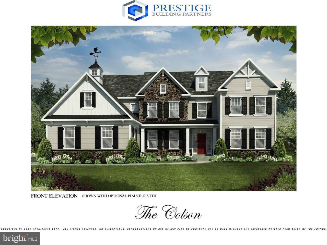 Частный односемейный дом для того Продажа на 342 OLD LIMEKILN Road Chalfont, Пенсильвания 18914 Соединенные Штаты