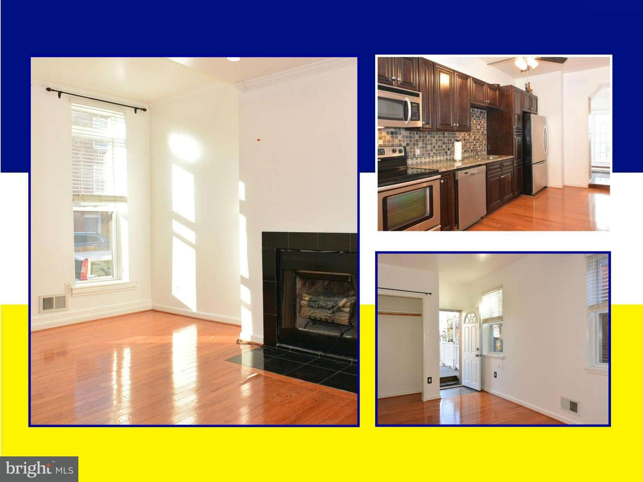 Single Family for Sale at 1031 Hanover St S Baltimore, Maryland 21230 United States