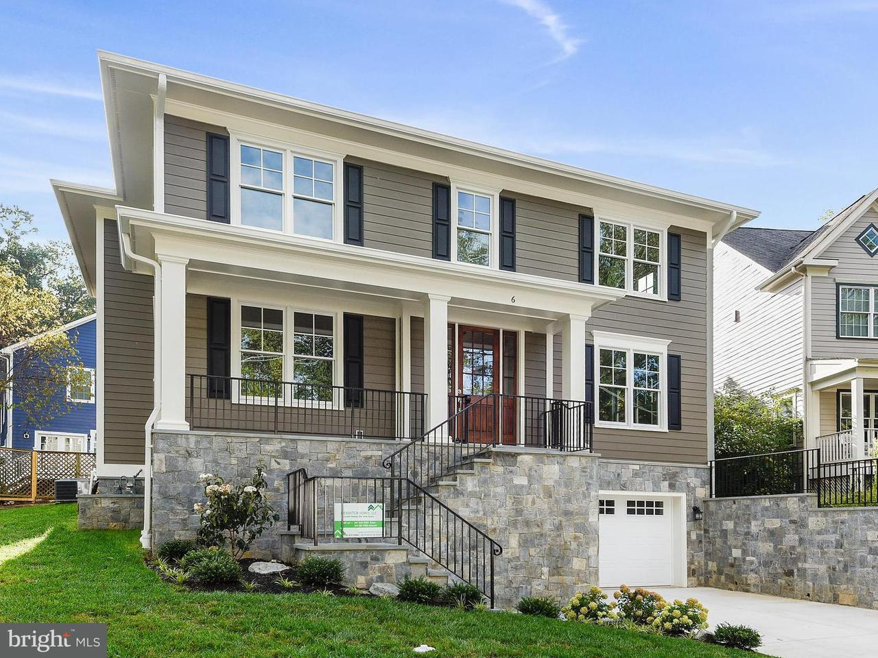Single Family Home for Sale at 6 Wyoming Court 6 Wyoming Court Bethesda, Maryland 20816 United States