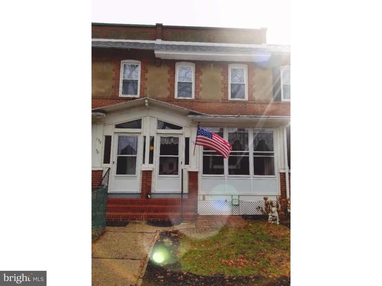 Townhouse for Sale at 137 7TH Avenue Roebling, New Jersey 08554 United States