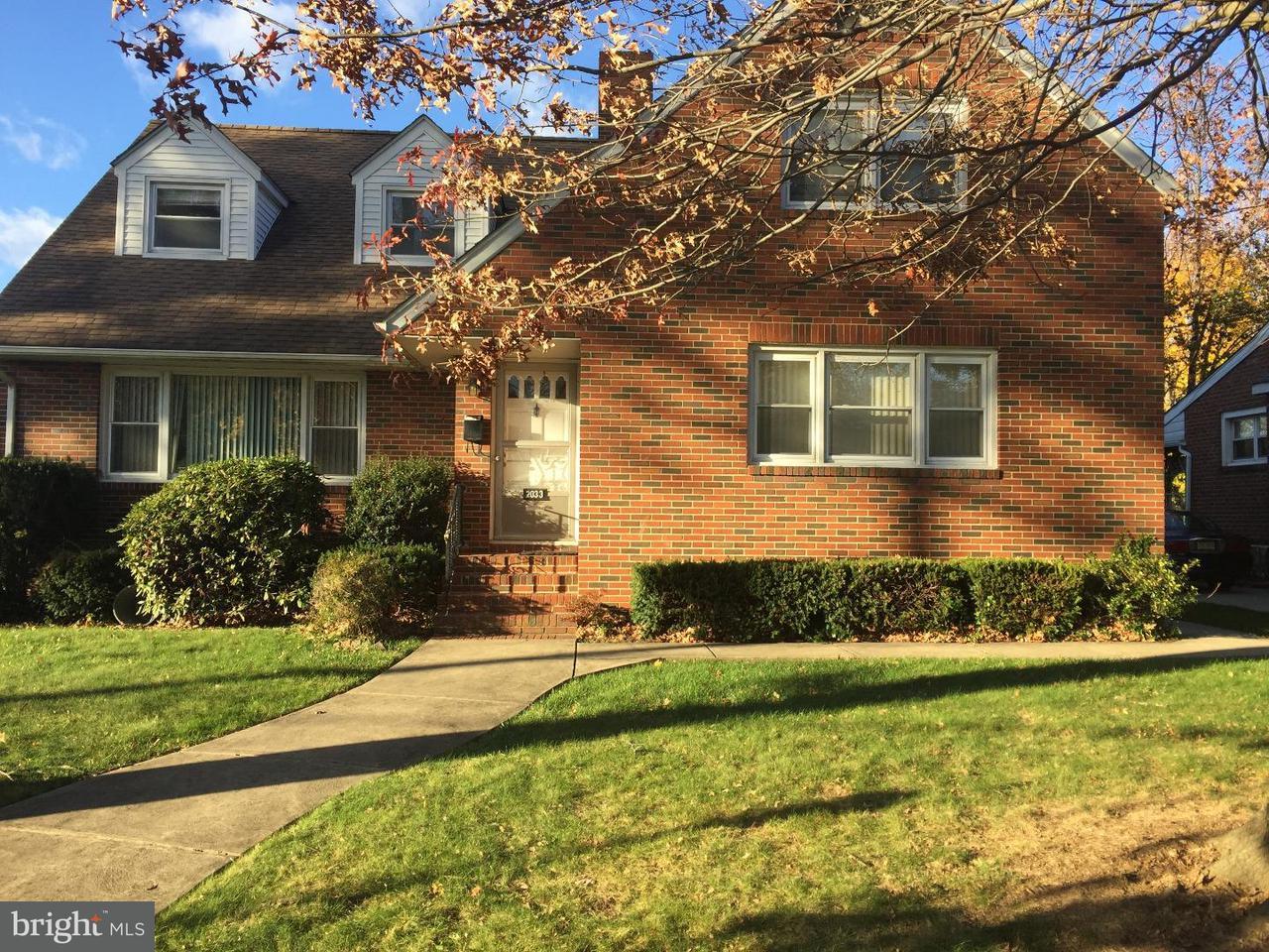 Частный односемейный дом для того Аренда на 2033 WAYNE Avenue Haddon Heights, Нью-Джерси 08035 Соединенные Штаты