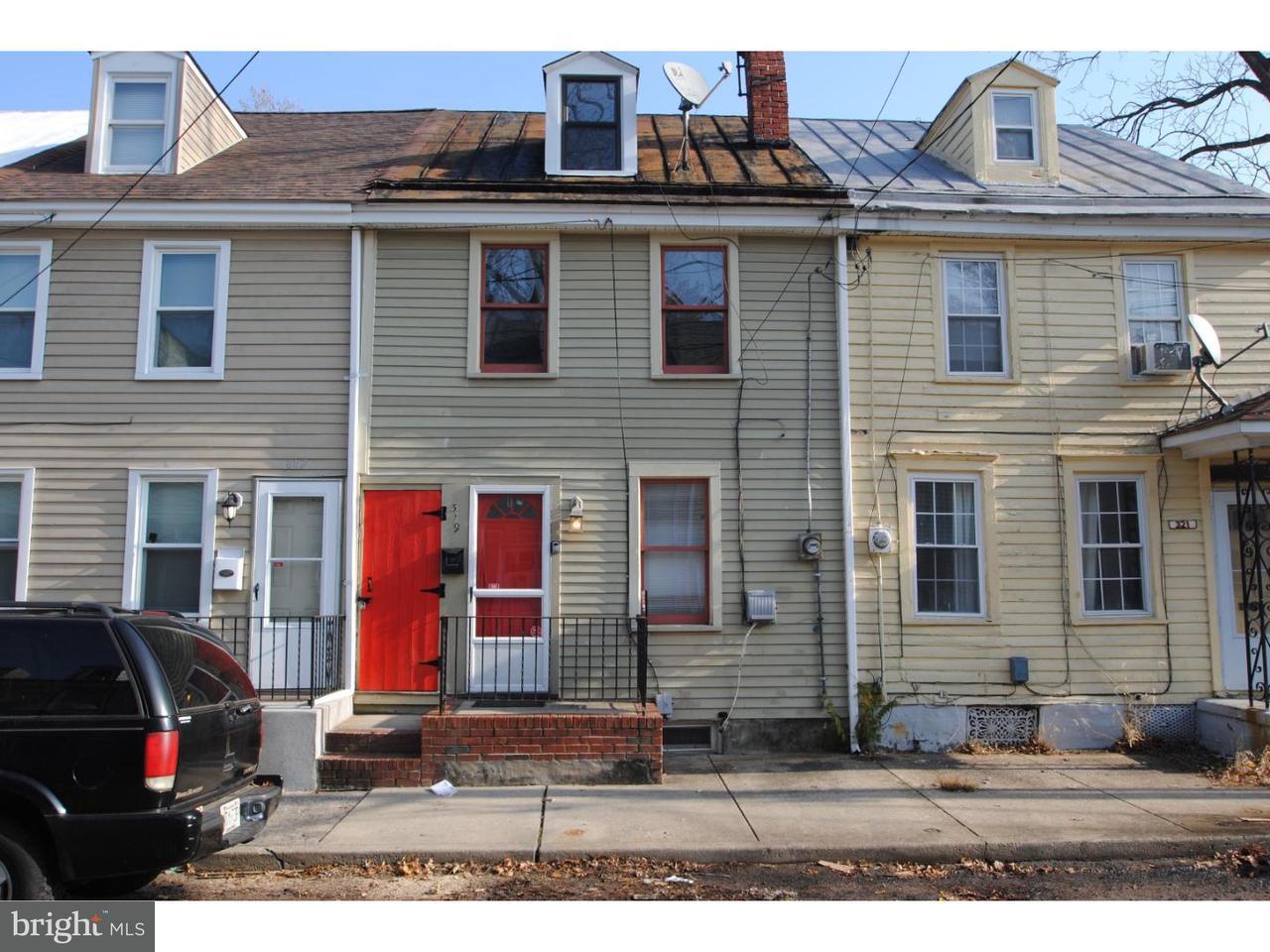 Casa unifamiliar adosada (Townhouse) por un Alquiler en 319 YORK Street Burlington, Nueva Jersey 08016 Estados Unidos