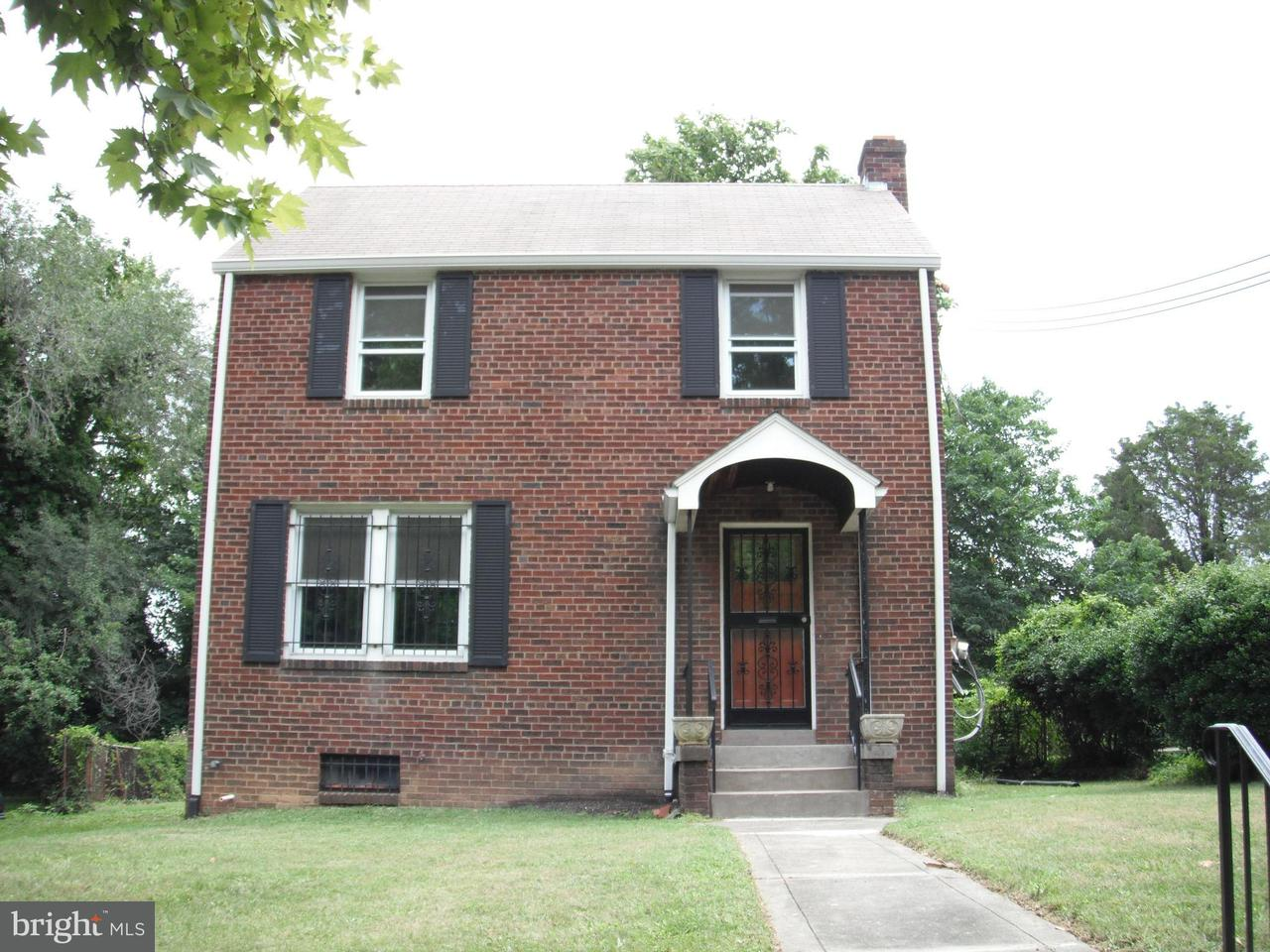Single Family Home for Sale at 614 RIDGE RD SE 614 RIDGE RD SE Washington, District Of Columbia 20019 United States