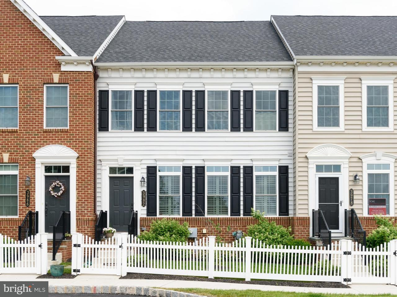 Townhouse for Rent at 3982 CEPHAS CHILD Road Doylestown, Pennsylvania 18902 United States