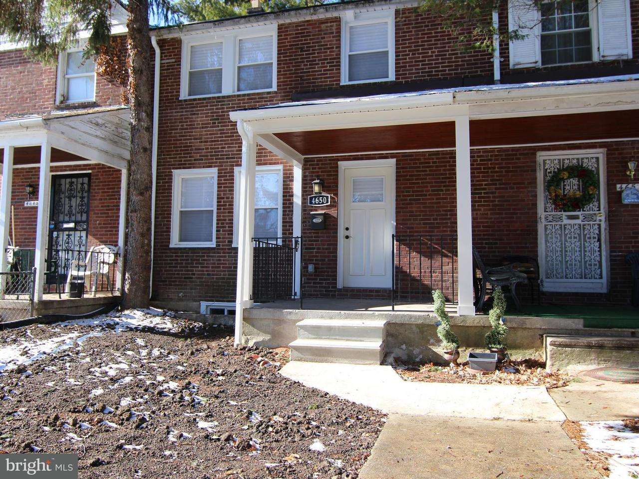 Single Family for Sale at 4650 Marble Hall Rd Baltimore, Maryland 21239 United States