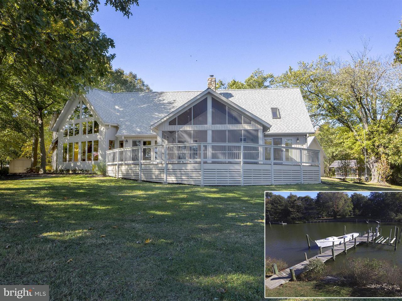 Частный односемейный дом для того Продажа на 4841 Church Lane 4841 Church Lane Galesville, Мэриленд 20765 Соединенные Штаты