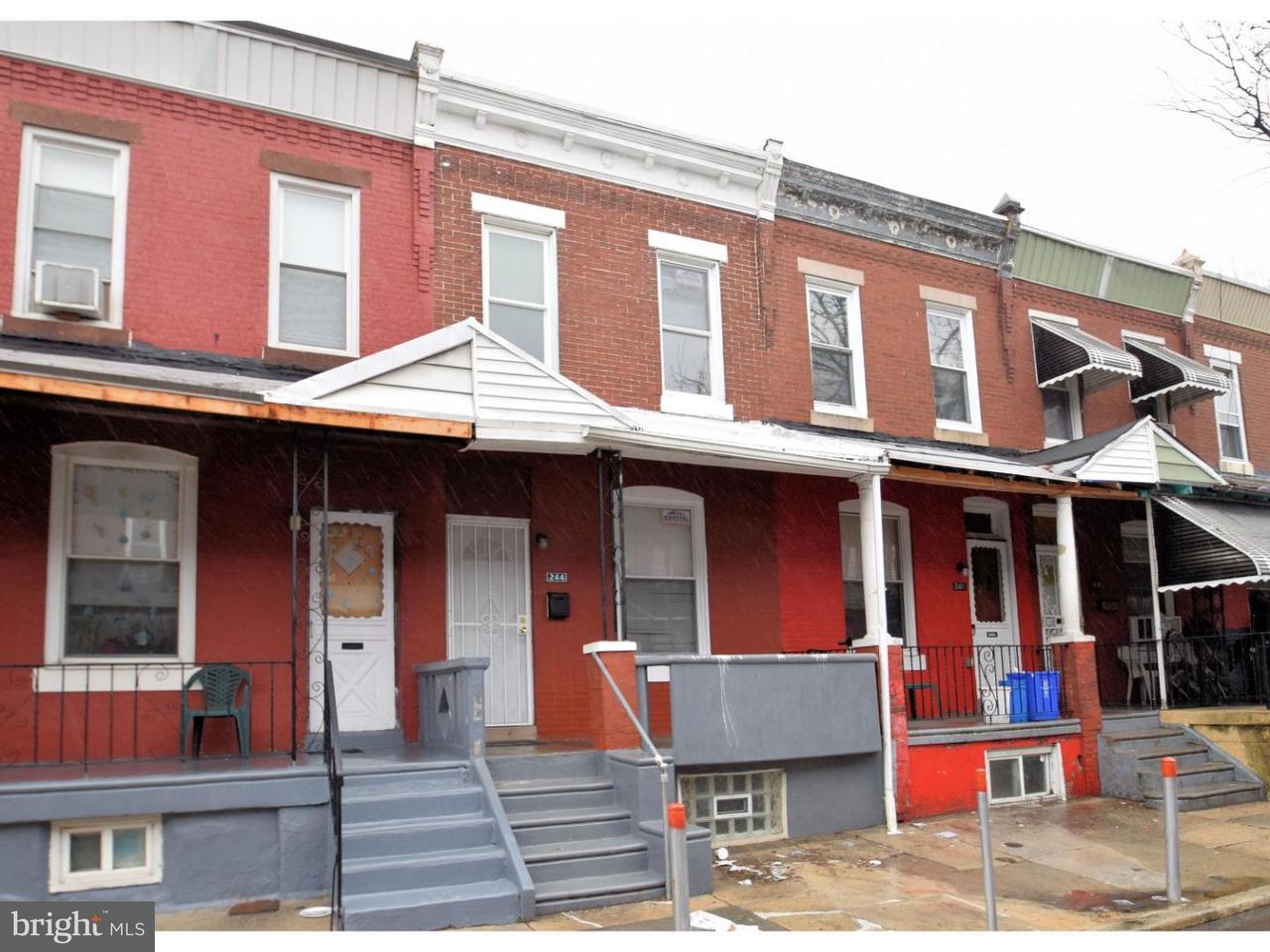 Townhouse for Rent at 244 N HOBART Street Philadelphia, Pennsylvania 19139 United States