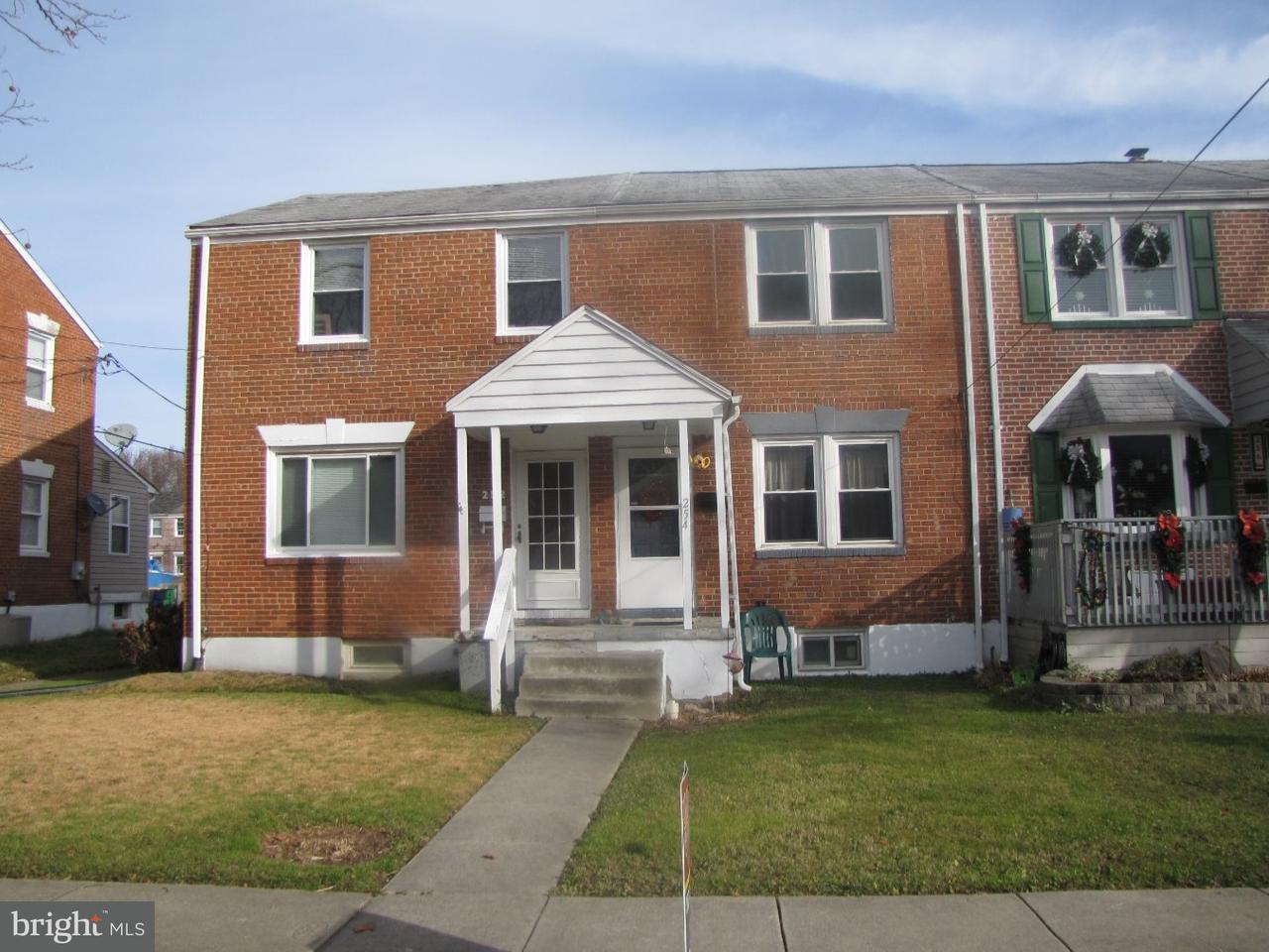 联栋屋 为 销售 在 254 BIRCH Avenue Elsmere, 特拉华州 19805 美国
